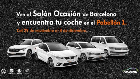 Das WeltAuto participa en OCASIÓN, el Salón del Vehículo Seminuevo de Barcelona